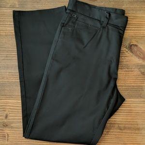 Men's Calvin Klein Body Fit Black Dress Pants